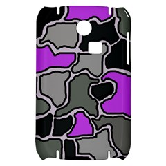 Purple and gray abstraction Samsung S3350 Hardshell Case