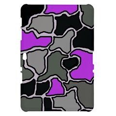 Purple and gray abstraction Samsung Galaxy Tab 10.1  P7500 Hardshell Case