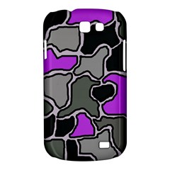 Purple and gray abstraction Samsung Galaxy Express I8730 Hardshell Case