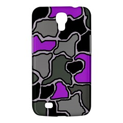Purple and gray abstraction Samsung Galaxy Mega 6.3  I9200 Hardshell Case
