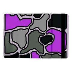 Purple and gray abstraction Samsung Galaxy Tab Pro 10.1  Flip Case