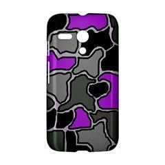 Purple and gray abstraction Motorola Moto G