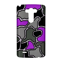 Purple and gray abstraction LG G3 Hardshell Case