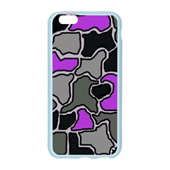 Purple and gray abstraction Apple Seamless iPhone 6/6S Case (Color)