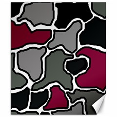 Decorative Abstraction Canvas 8  X 10