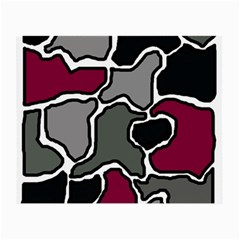 Decorative abstraction Small Glasses Cloth (2-Side)