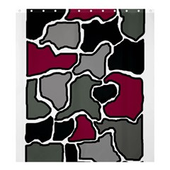 Decorative abstraction Shower Curtain 66  x 72  (Large)