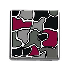 Decorative abstraction Memory Card Reader (Square)