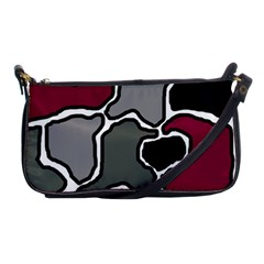 Decorative abstraction Shoulder Clutch Bags