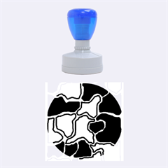 Decorative abstraction Rubber Round Stamps (Medium)