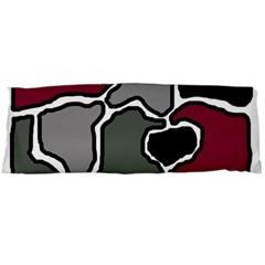 Decorative abstraction Body Pillow Case Dakimakura (Two Sides)