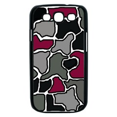 Decorative abstraction Samsung Galaxy S III Case (Black)