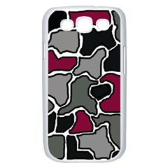 Decorative abstraction Samsung Galaxy S III Case (White)