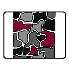 Decorative abstraction Double Sided Fleece Blanket (Small)
