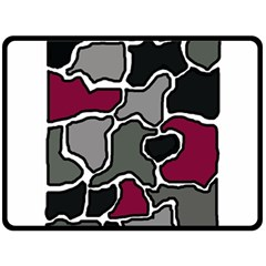 Decorative abstraction Double Sided Fleece Blanket (Large)