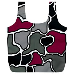 Decorative abstraction Full Print Recycle Bags (L)
