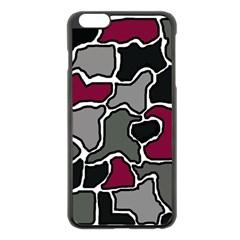 Decorative abstraction Apple iPhone 6 Plus/6S Plus Black Enamel Case