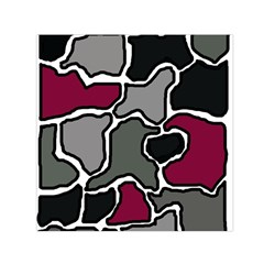 Decorative abstraction Small Satin Scarf (Square)