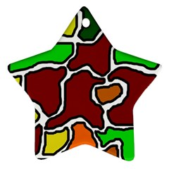 Africa abstraction Ornament (Star)