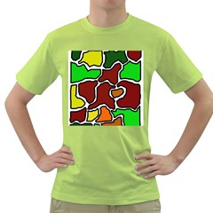 Africa abstraction Green T-Shirt