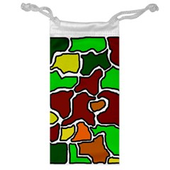 Africa abstraction Jewelry Bags