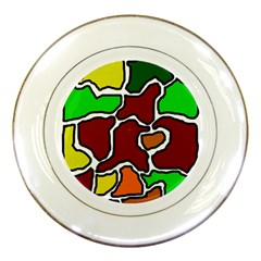 Africa abstraction Porcelain Plates