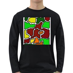 Africa abstraction Long Sleeve Dark T-Shirts