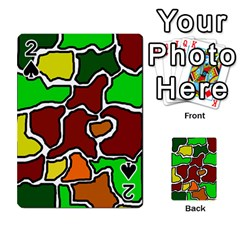Africa abstraction Playing Cards 54 Designs