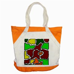 Africa abstraction Accent Tote Bag