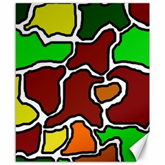 Africa abstraction Canvas 8  x 10