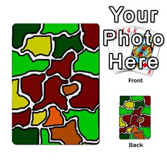 Africa Abstraction Multi Purpose Cards (rectangle)