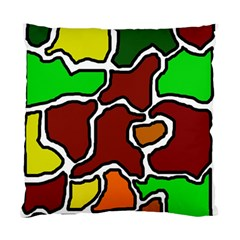 Africa abstraction Standard Cushion Case (Two Sides)