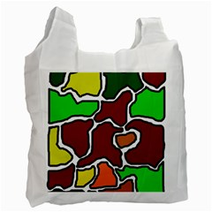 Africa abstraction Recycle Bag (One Side)