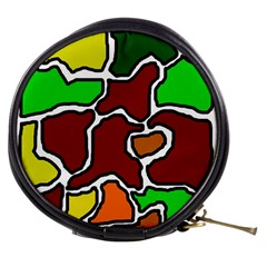 Africa abstraction Mini Makeup Bags