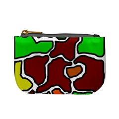 Africa abstraction Mini Coin Purses