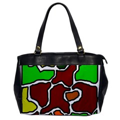 Africa abstraction Office Handbags