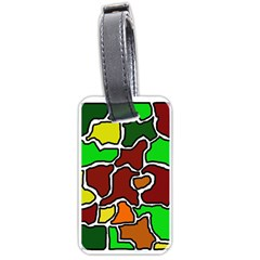 Africa abstraction Luggage Tags (Two Sides)