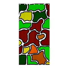 Africa abstraction Shower Curtain 36  x 72  (Stall)