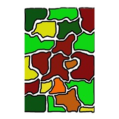 Africa abstraction Shower Curtain 48  x 72  (Small)