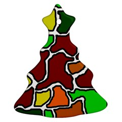Africa abstraction Christmas Tree Ornament (2 Sides)