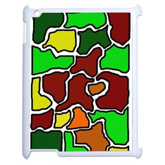 Africa abstraction Apple iPad 2 Case (White)
