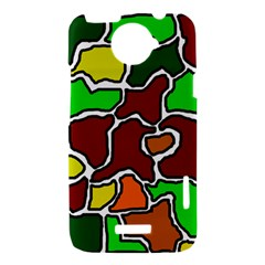Africa abstraction HTC One X Hardshell Case