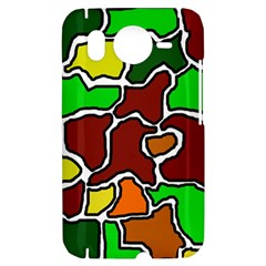 Africa abstraction HTC Desire HD Hardshell Case