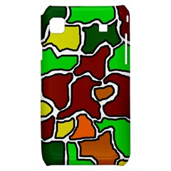Africa abstraction Samsung Galaxy S i9000 Hardshell Case