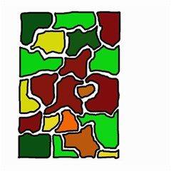 Africa abstraction Large Garden Flag (Two Sides)