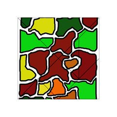Africa abstraction Acrylic Tangram Puzzle (4  x 4 )