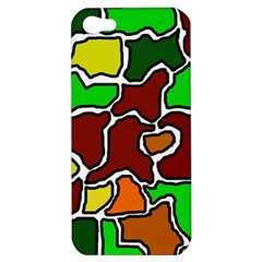 Africa abstraction Apple iPhone 5 Hardshell Case