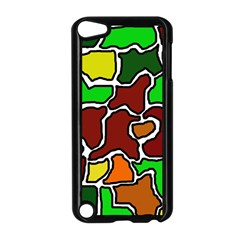 Africa abstraction Apple iPod Touch 5 Case (Black)