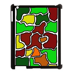 Africa abstraction Apple iPad 3/4 Case (Black)