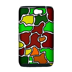 Africa abstraction Samsung Galaxy Note 2 Hardshell Case (PC+Silicone)